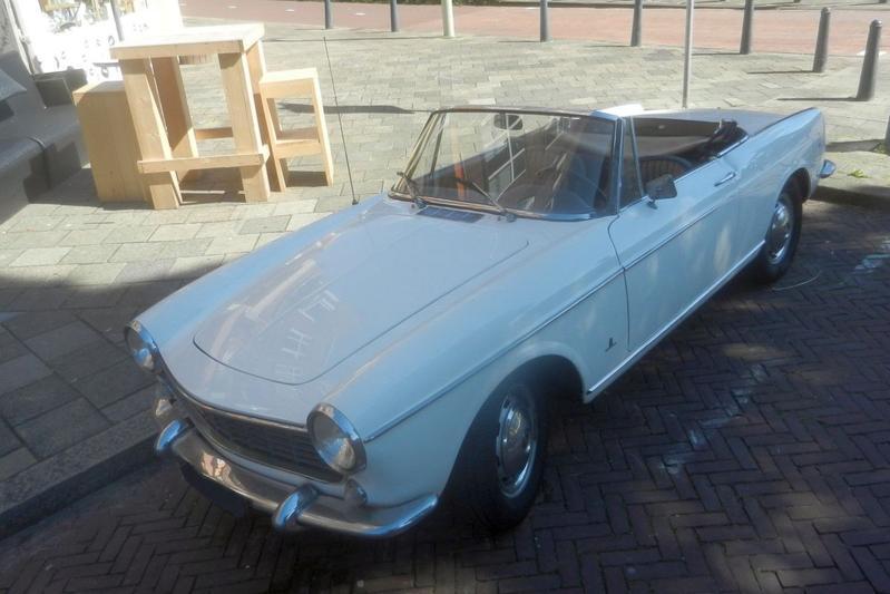 In het Wild: Fiat 1500 Cabriolet (1966)