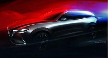 Mazda stuurt teaser nieuwe CX-9 de wereld in