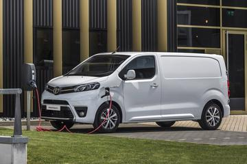 Toyota Proace Electric maakt elektrische vierling compleet