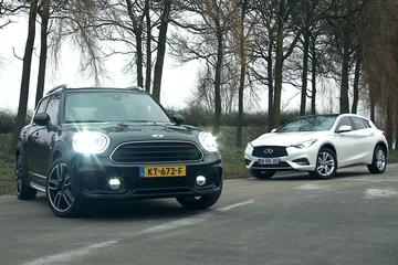 Mini Countryman vs. Infiniti Q30 - Dubbeltest