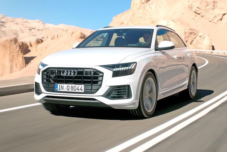 Audi Q8 - Rij-impressie