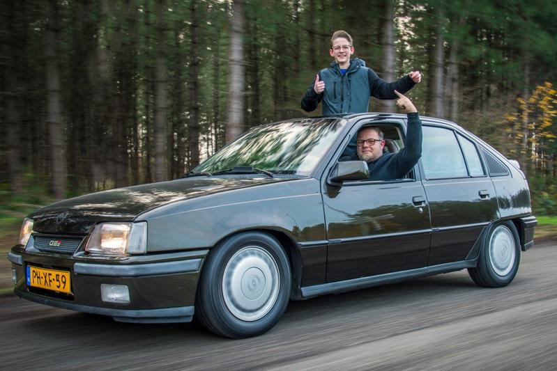 Opel Kadett GSI tiener jongeren 16-jaar