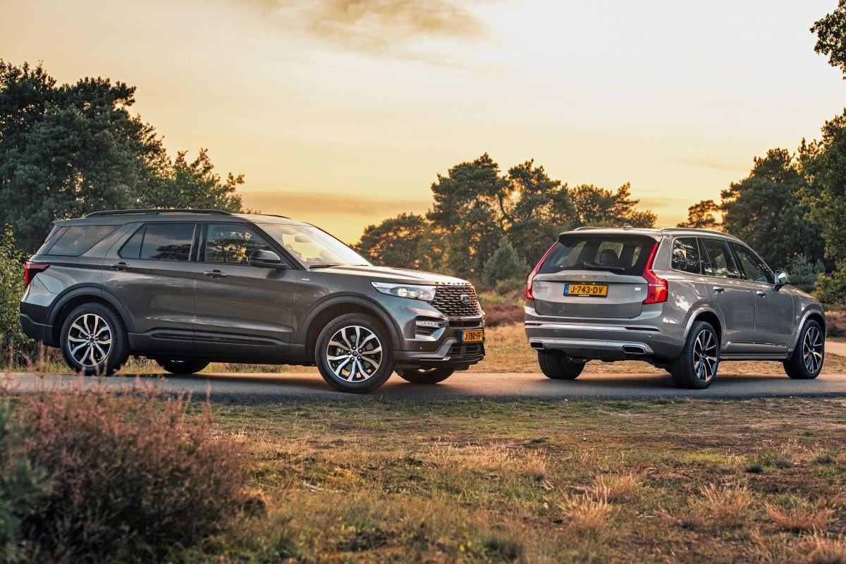 Ford Explorer vs. Volvo XC90