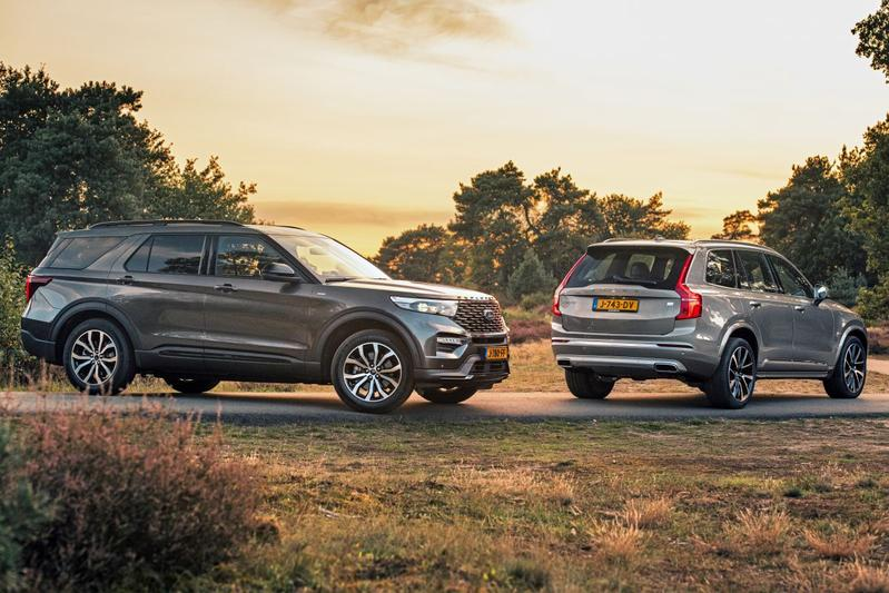 Ford Explorer PHEV vs. Volvo XC90 Recharge T8 - Dubbeltest