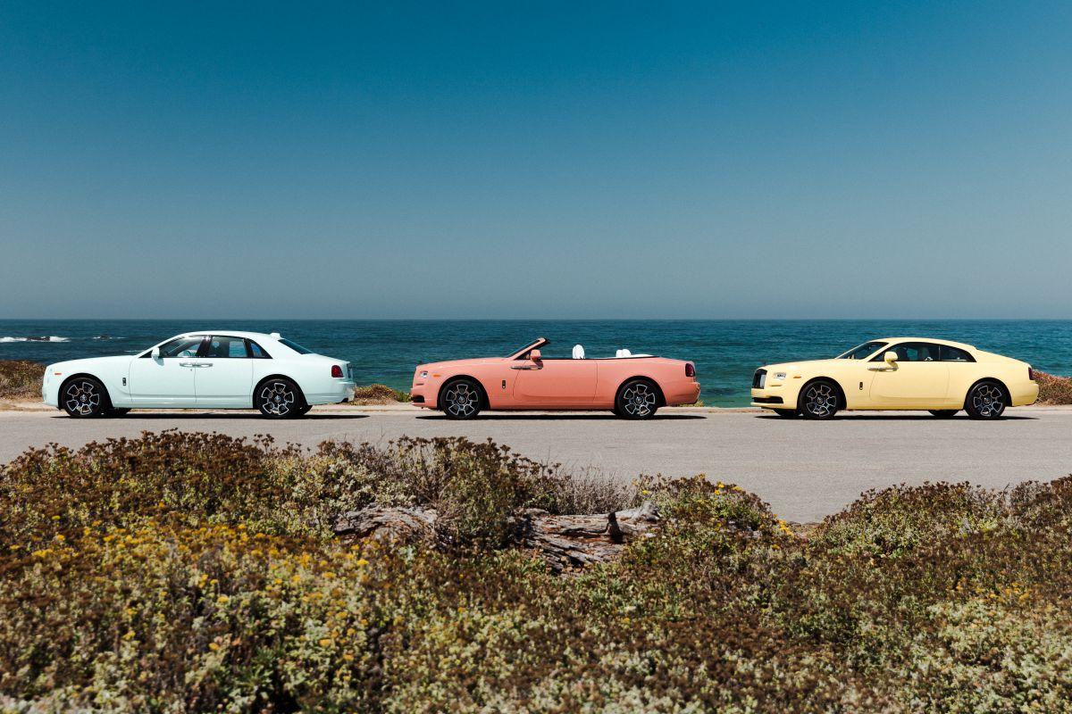 Rolls-Royce Pebble Beach Collection 2019 kleur kleuren