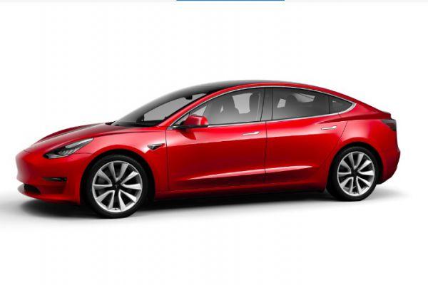 Tesla Model 3 vanaf nu te configureren