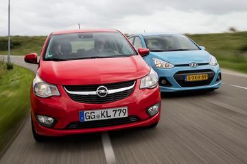 Dubbeltest - Opel Karl vs Hyundai i10