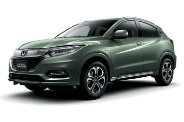 Gefacelifte Honda HR-V van alle kanten