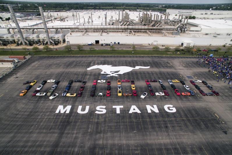 Mijlpaal: tien miljoen keer Ford Mustang