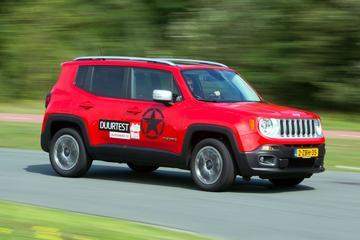Nieuwe versie voor Jeep Renegade