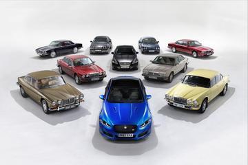 Jaguar viert feest met XJ50