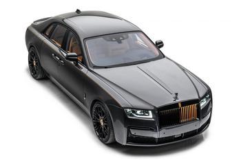 Rolls-Royce Ghost subtiel aangepakt door Mansory