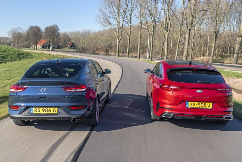 Kia Proceed vs. Hyundai i30 Fastback - Dubbeltest
