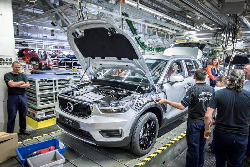 Productie Volvo XC40 gestart Gent