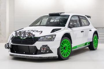 Skoda Fabia Rally2 evo Edition 120 is gelimiteerd rallykanon