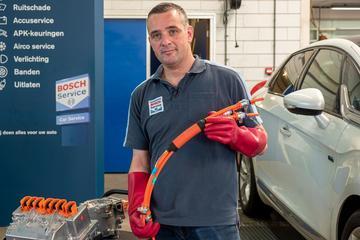 Onderhoud elektrische auto's