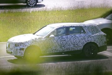 Nieuwe Mercedes-Benz GLC gesnapt