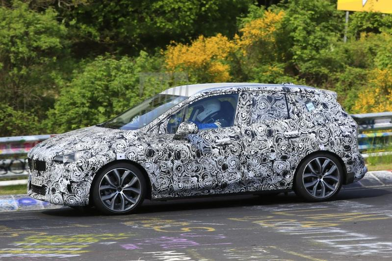 BMW 2-serie Active Tourer spionage
