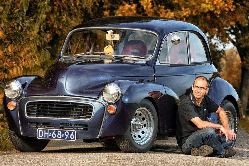 Kloppend Hart - Morris Minor V8