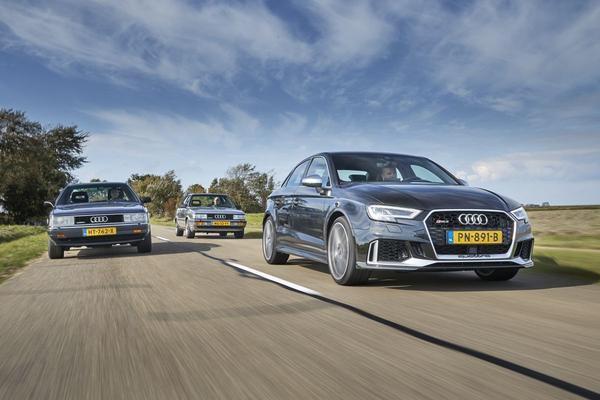 Video: Audi RS3 sedan en de 5-cilindersedantraditie