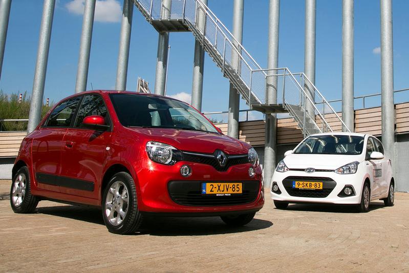Dubbeltest - Renault Twingo vs Hyundai i10