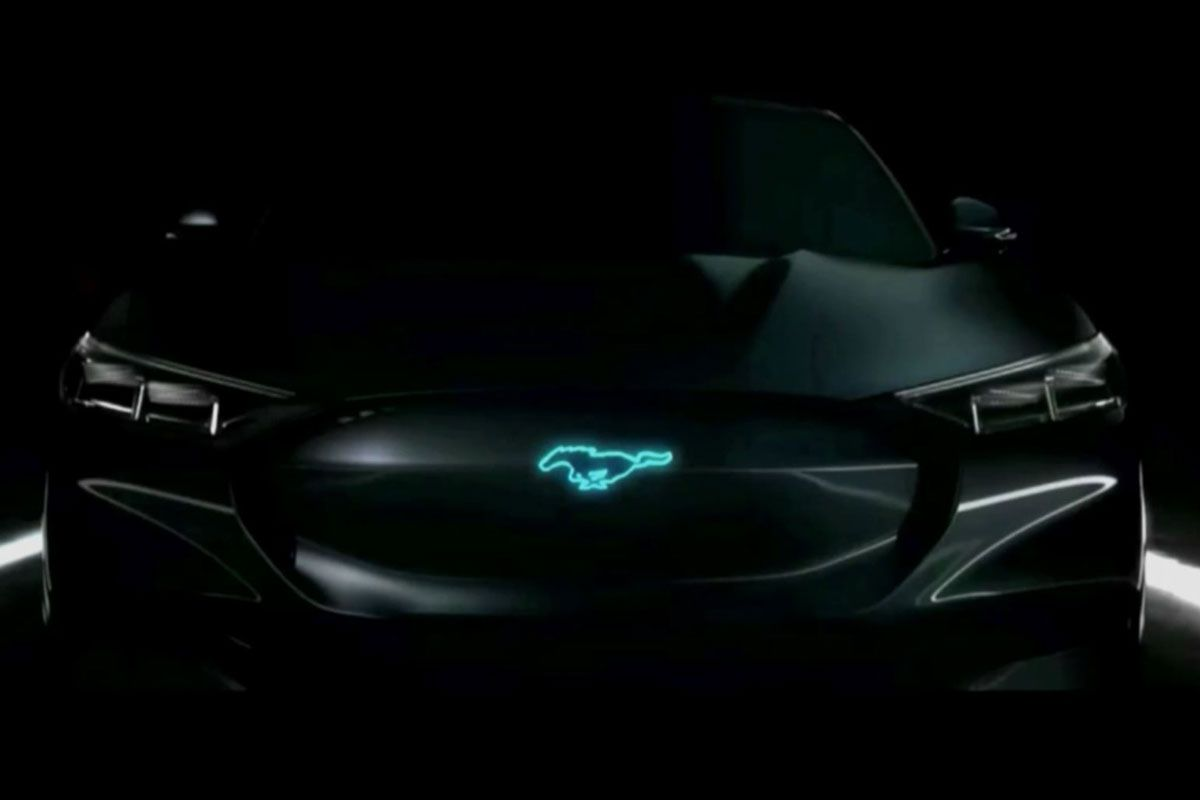 Ford elektrische Mustang teaser