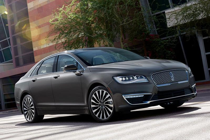 Lincoln MKZ facelift