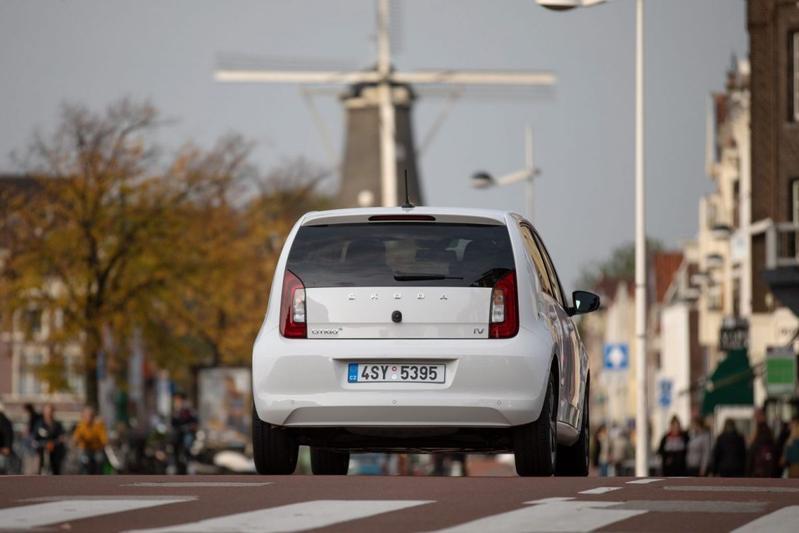 Skoda Citigo iV Amsterdam binnenstad