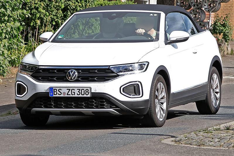 Spyshots Volkswagen T-Roc Cabrio