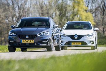 Renault Mégane Estate PHEV vs. Seat Leon Sportstourer e-Hybrid - Dubbeltest