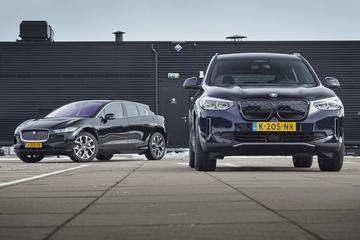 Test: BMW iX3 vs. Jaguar i-Pace