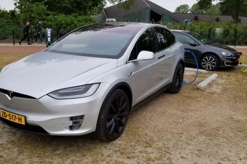 Tesla Model X 100D Performance Ludicrous (2018)