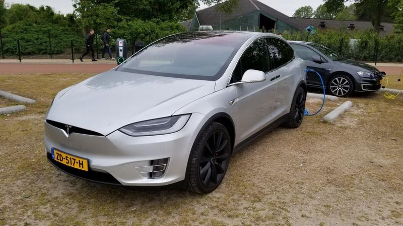 Tesla Model X 100D Performance Ludicrous (2018)