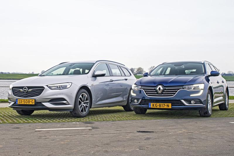 Opel Insignia vs. Renault Talisman - Occasiondubbeltest