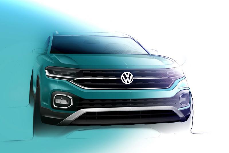 Volkswagen schetst T-Cross wederom