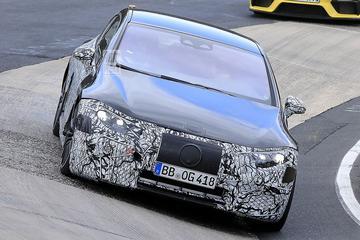 Mercedes-AMG EQS voor het eerst te zien