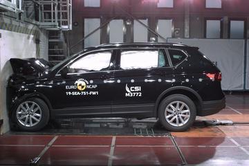 Topscore Euro NCAP voor Seat Tarraco en Mercedes G-klasse