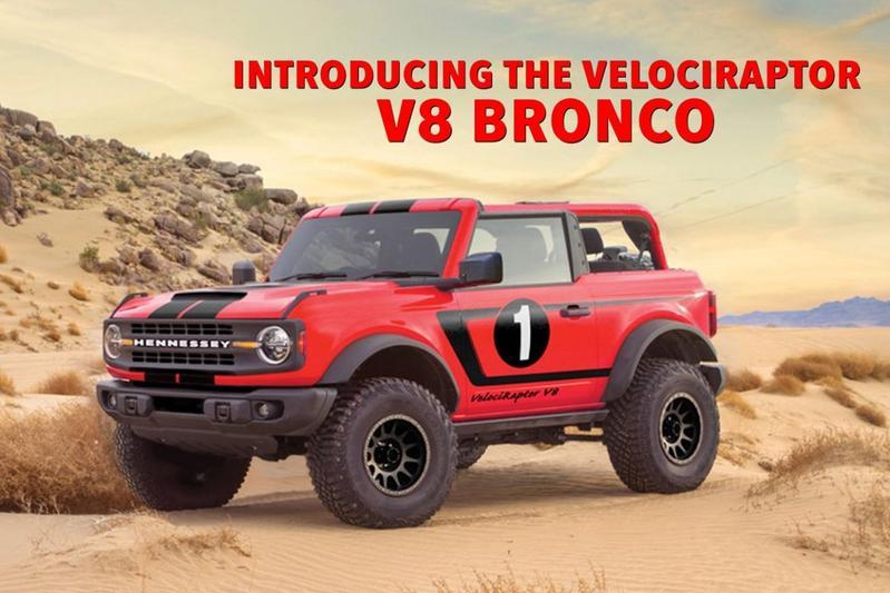 Hennessey Velociraptor Ford V8 Bronco