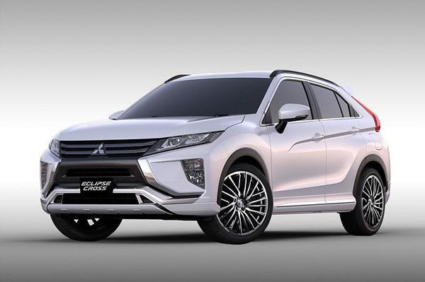 Mitsubishi Eclipse Cross en Outlander aangekleed