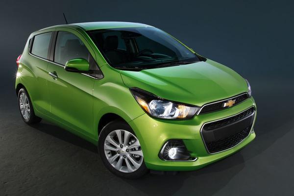 De Tweeling: Opel Karl – Chevrolet Spark