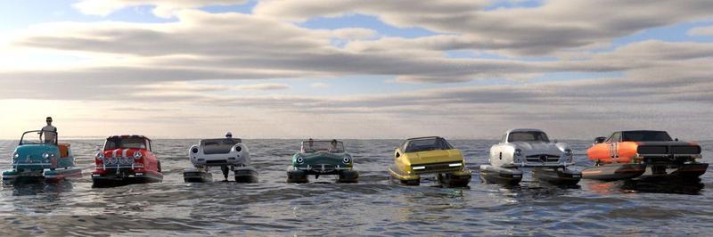 Floating Motors bootautootje