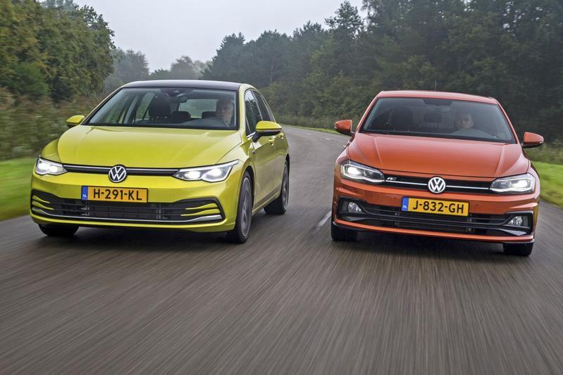 Volkswagen Polo vs. Volkswagen Golf - Klassenstrijd