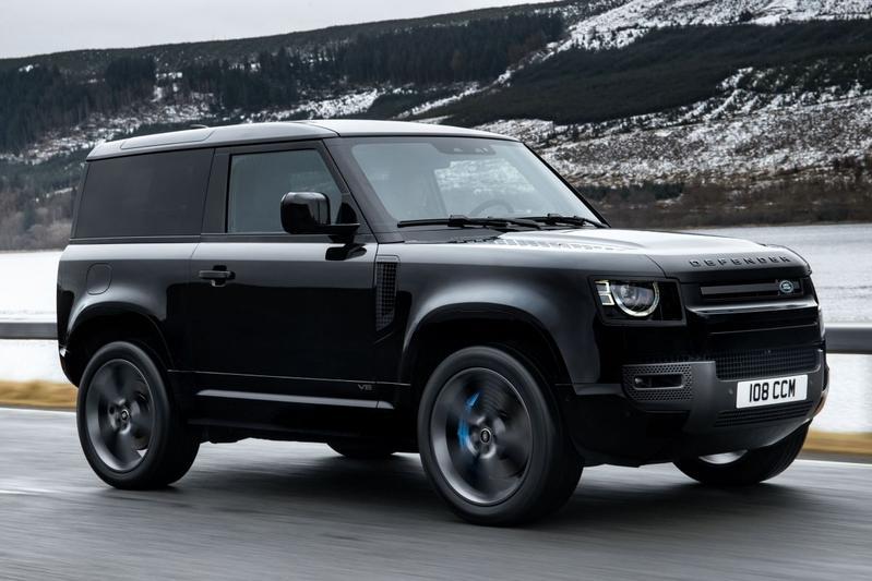 Land Rover Defender krijgt 525 pk sterke V8