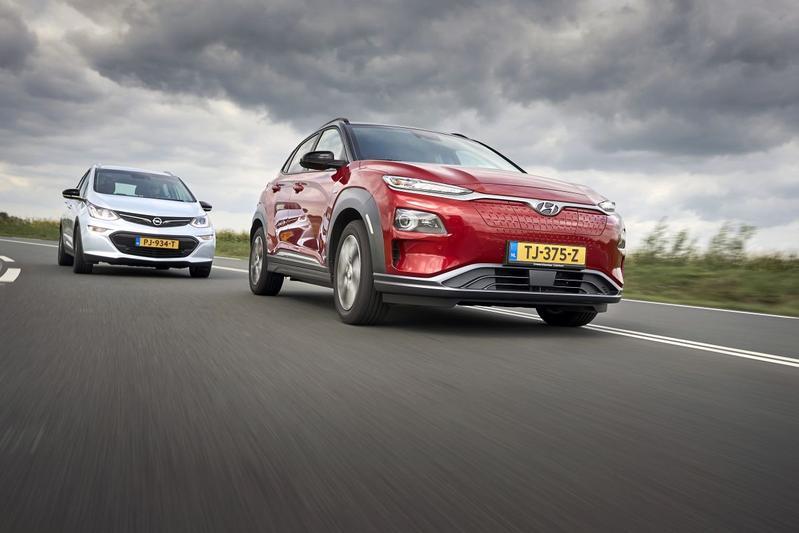 Hyundai Kona Electric - Opel Ampera-e