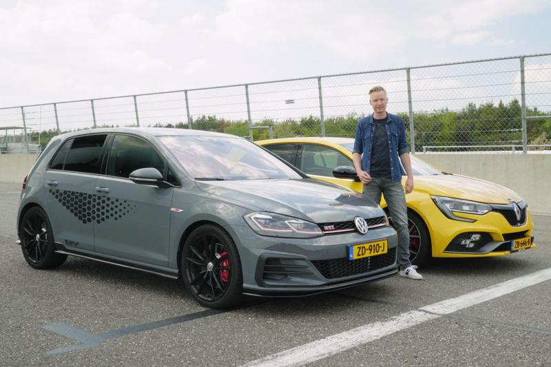 Renault Mégane RS Trophy vs. Volkswagen Golf GTI TCR - Dubbeltest
