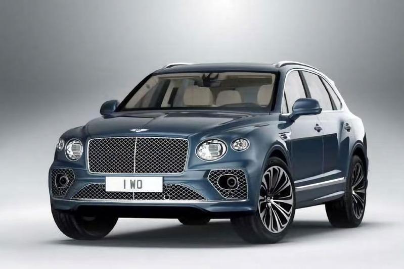 Bentley Bentayga facelift gelekt