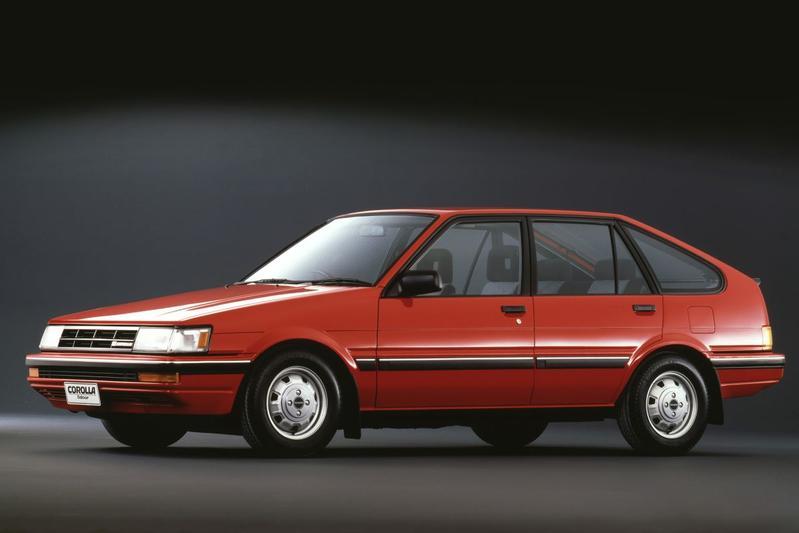 Toyota Corolla Liftback 1.3 GL (1987)