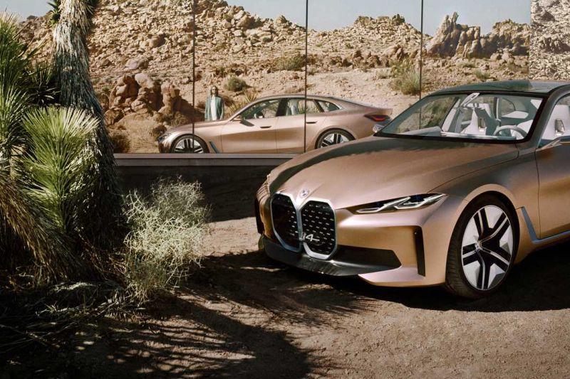 BMW Concept i4 gelekt