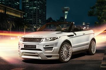 Range Rover Convertible niet veilig voor Hamann