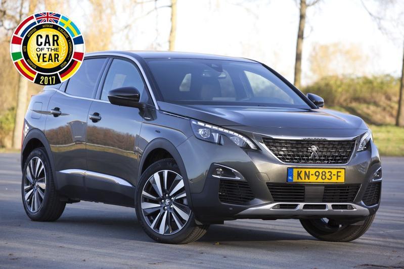 Peugeot 3008 is Auto van het Jaar 2017